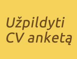 Užpildyti CV